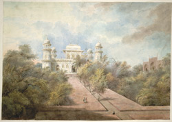 The tomb and garden of Itimad al-Daulah at Agra